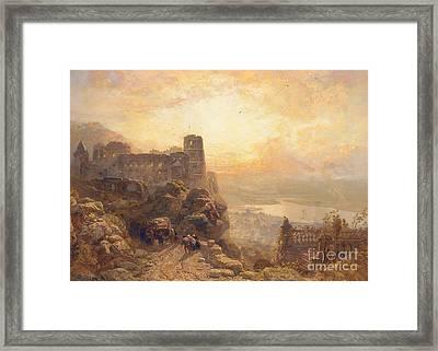 Heidelberg Framed Print by James Webb