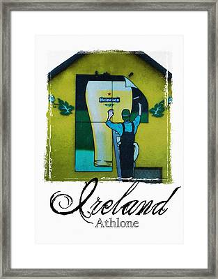 Heineken Athlone Ireland Framed Print by Teresa Mucha