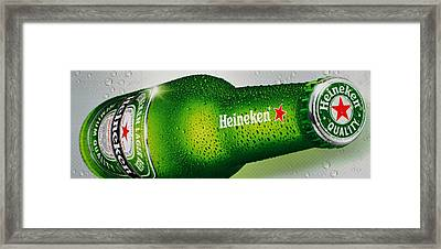 Heineken Framed Print by Mountain Dreams