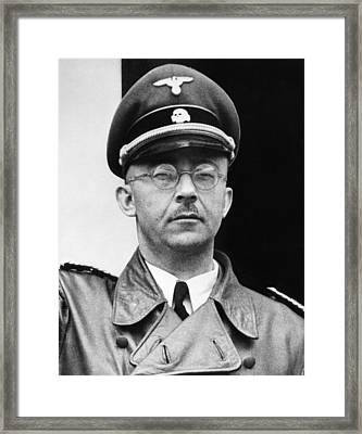 Heinrich Himmler 1900-1945, Nazi Leader Framed Print by Everett