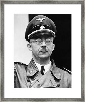 Heinrich Himmler 1900-1945, Nazi Leader Framed Print by Everett