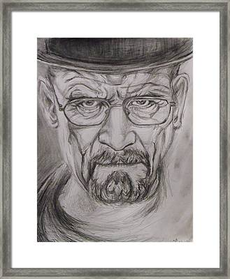 Heisenberg Framed Print by Hannah Curran