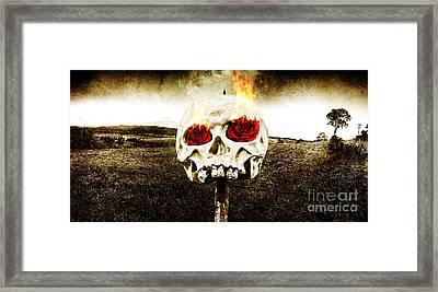 Hellfire Of Love Framed Print by Jorgo Photography - Wall Art Gallery
