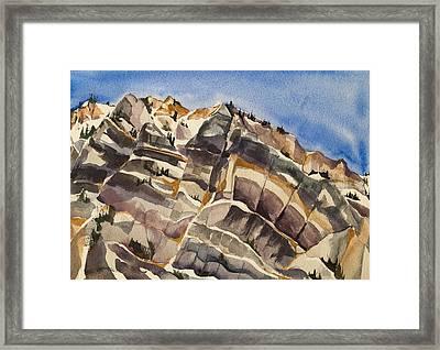 Hellgate View Framed Print by Lynne Bolwell