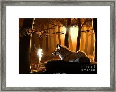 Hello Friend Framed Print by Jennette Brown