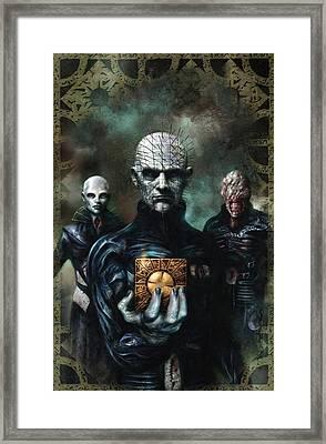 Hellraiser Art  Framed Print by Jeremy Tisler