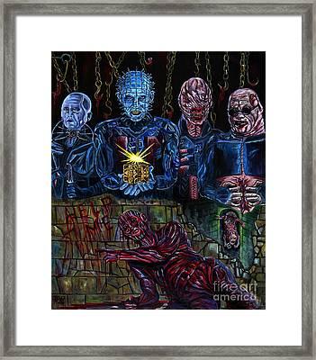 Hellraiser Framed Print by Jose Mendez