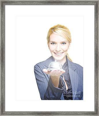 Help At Hand Framed Print by Jorgo Photography - Wall Art Gallery