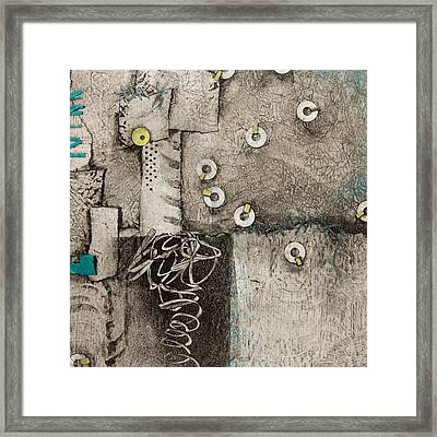 Help Is On Its Way Framed Print by Laura Lein-Svencner