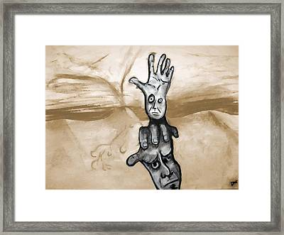 Helping Hand Framed Print by Jacob Smith