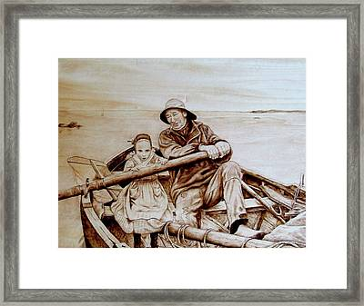 Helping Hands Framed Print by Jo Schwartz