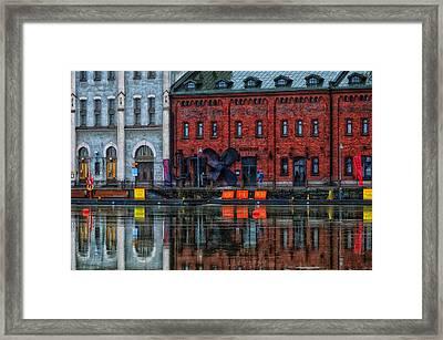 Helsinki Waterfront Framed Print by Mountain Dreams