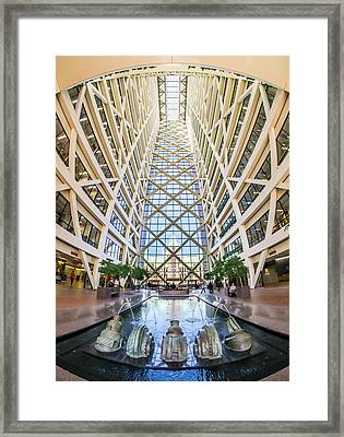 Hennepin County Government Center In Minneapolis Minnesota Framed Print by Jim Hughes