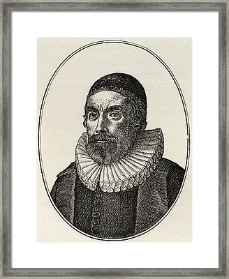 Henry Burton, 1578 To 1648. English Framed Print by Vintage Design Pics