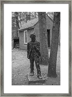 Henry David Thoreau House Walden Pond Concord Ma Framed Print by Toby McGuire