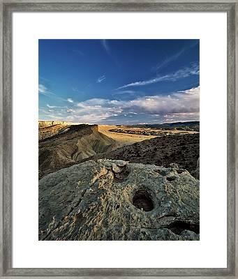 Henry Mountain Wsa Framed Print by Leland D Howard