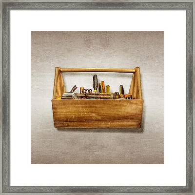 Henry's Toolbox Framed Print by YoPedro