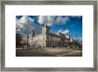 Her Majesty's Treasury Framed Print by Adrian Evans
