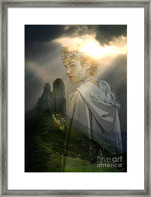 Her Realm Framed Print by Tammera Malicki-Wong