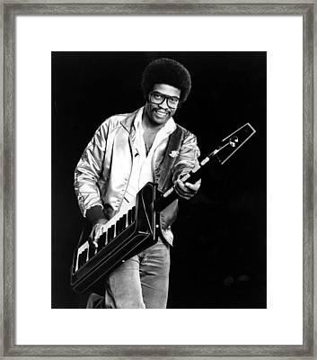 Herbie Hancock, 1980s Framed Print by Everett