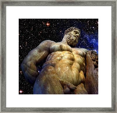 Hercules Framed Print by Valeriy Mavlo