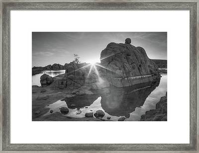 Here Comes The Sun Framed Print by Donna Kennedy