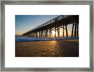 Here Comes The Sun Framed Print by Kristopher Schoenleber