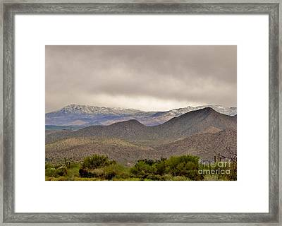 Here Comes The Sun Framed Print by Marilyn Smith