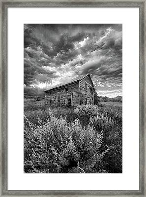 Here There Be Ghosts Framed Print by Phil Koch