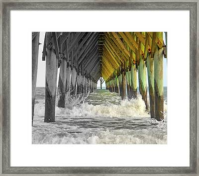 Here's Your Light At The End Of The Tunnel Framed Print by Betsy C Knapp