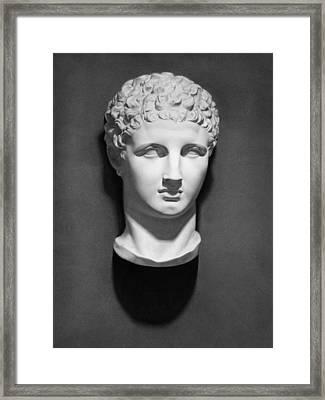Hermes Framed Print by Nicole Daniah Sidonie