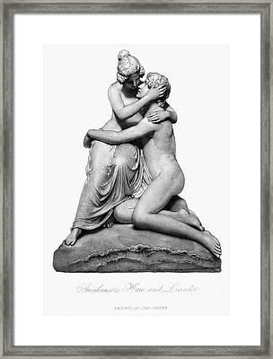 Hero And Leander Framed Print by Granger