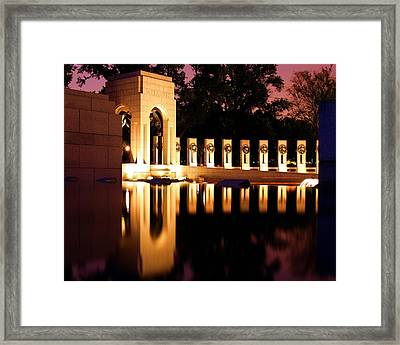 Heroes Framed Print by Mitch Cat