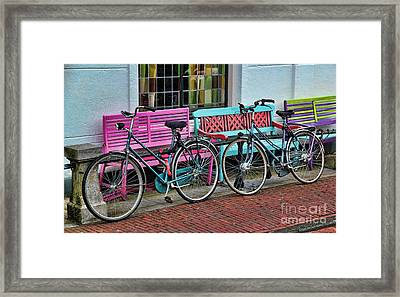 Hers And Hers Framed Print by Jasna Buncic