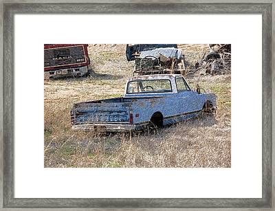 Hey Mack Gotta Light Framed Print by Gary Adkins