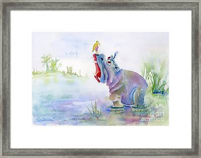 Hey Whats The Big Idea Framed Print by Amy Kirkpatrick