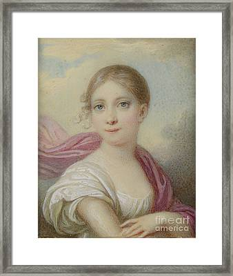 Hh The Hereditary Duchess Of Saxe Framed Print by MotionAge Designs
