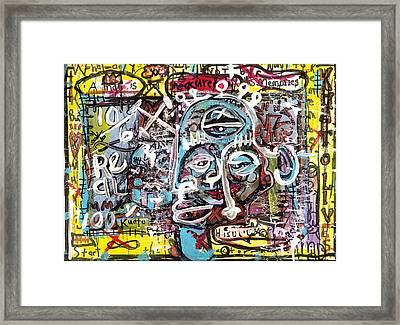 Hidden Agenda Framed Print by Robert Wolverton Jr