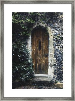 Hidden Door Framed Print by Joana Kruse