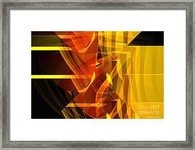 Hidden Face Framed Print by Thibault Toussaint