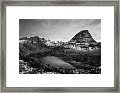 Hidden Lake Framed Print by Jesse Estes