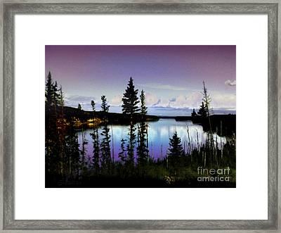 Hidden Paradise Framed Print by TLynn Brentnall