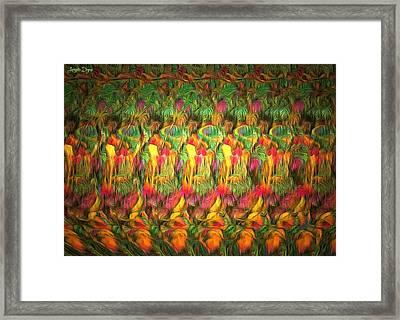 Hidden Squirrel - Pa Framed Print by Leonardo Digenio
