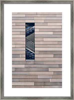 Hidden Stairway Framed Print by Scott Norris