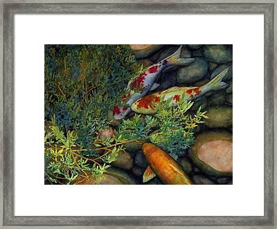 Hidden Treasure Framed Print by Hailey E Herrera