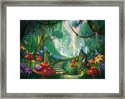 Hidden Treasure Framed Print by Philip Straub
