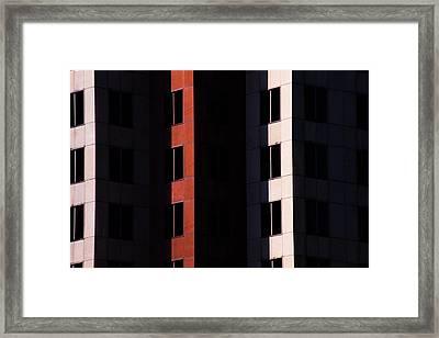 Hidden Windows Framed Print by Karol Livote