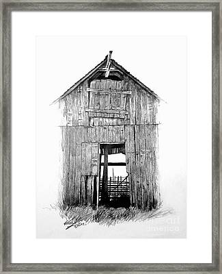 Hide Out Framed Print by William Kelsey