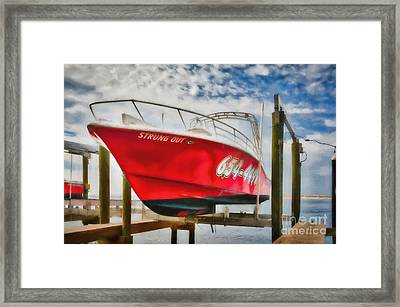 High And Dry In Destin Framed Print by Mel Steinhauer