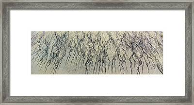 High Angle View Of Waves Create Framed Print by Panoramic Images